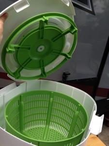 laundry pod inside