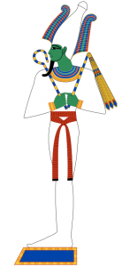 Osiris, another God people no longer believe in.
